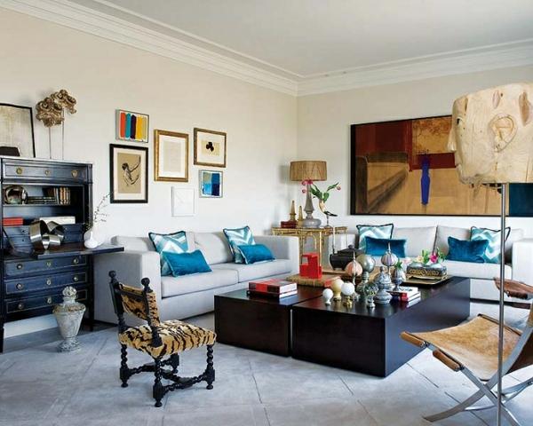 Eklektische Innendesign Ideen für Ihre Wohneinrichtung