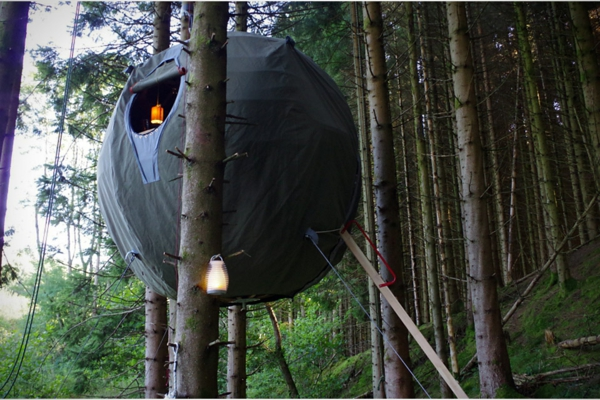 innovatives design camping zelt