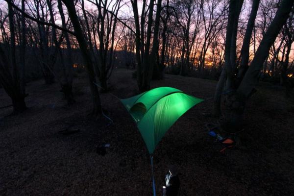 innovatives design von camping zelten