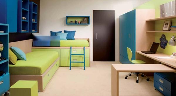 Kinderzimmerdesign mit ganz schlichten Linien