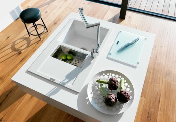 kücheneinrichtung ideen küchenausstattung küchenmöbel bodenbelag
