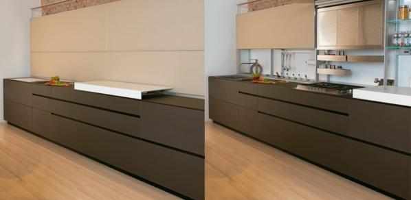 kücheneinrichtung ideen küchenausstattung küchenmöbel insel