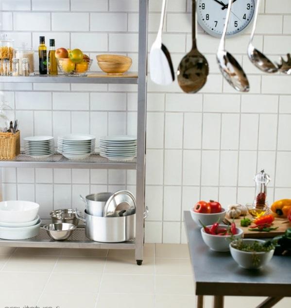 kücheneinrichtung ideen küchenausstattung küchenmöbel regale