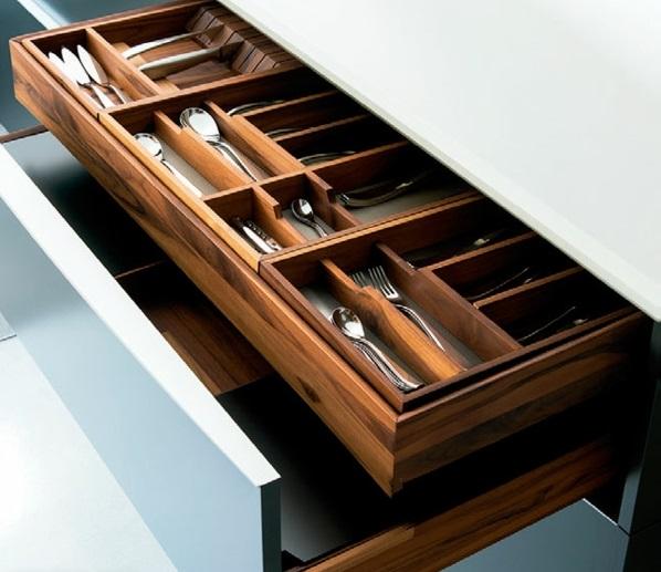 küchenmöbel ideen küchenausstattung schubladen