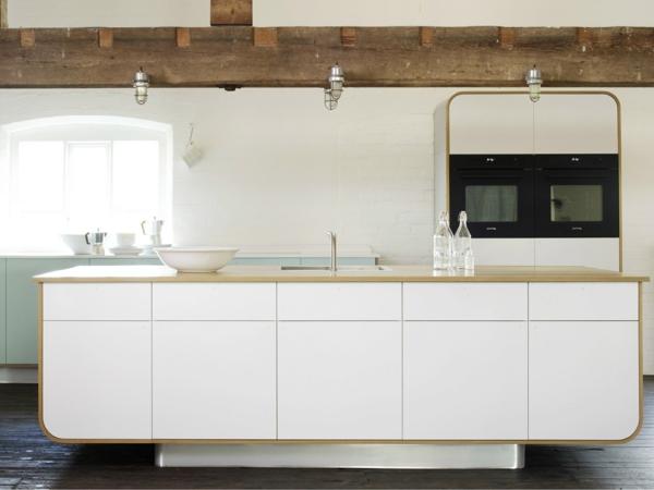 küchengestaltung attraktives kücheninsel design
