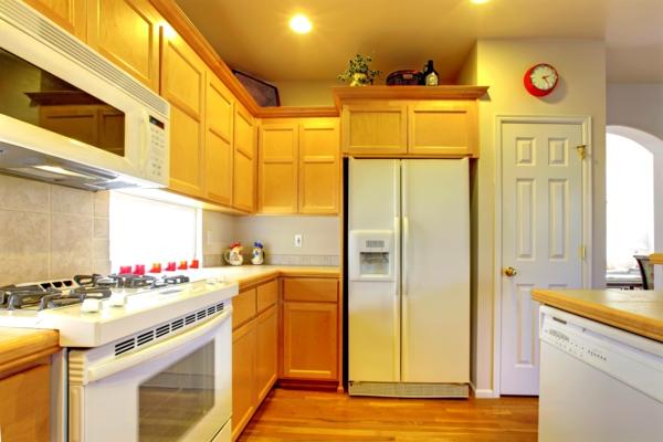 küchengestaltung ideen - mehr platz in der kleinen küche, Hause ideen
