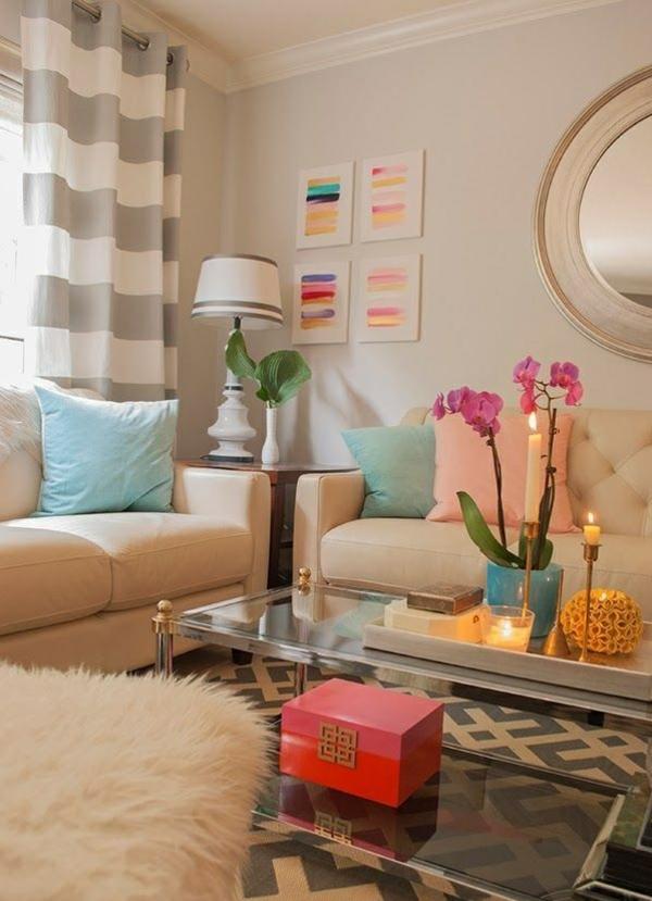 wohnzimmer dekorationen f r eine gem tliche atmosph re. Black Bedroom Furniture Sets. Home Design Ideas