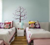 Kinderzimmer gestalten – Tolles Kinderzimmer für zwei Mädchen