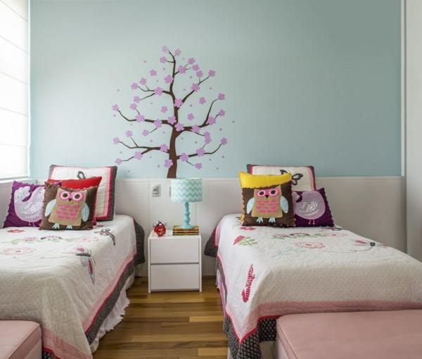 kinderzimmer gestalten tolles kinderzimmer f r zwei m dchen. Black Bedroom Furniture Sets. Home Design Ideas