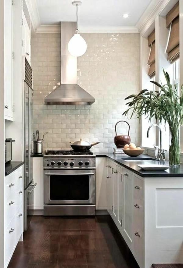 Kleine küchen  Küchengestaltung Ideen - Mehr Platz in der kleinen Küche
