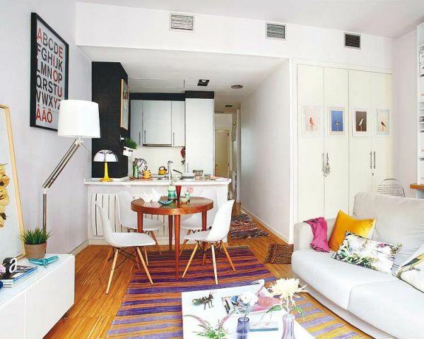 kleine wohnung einrichten vertikale einrichtungsideen offener wohnbereich
