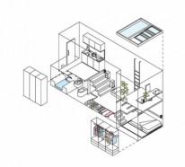 Kleine Wohnung einrichten – die Raumhöhe benutzen und Platz sparen