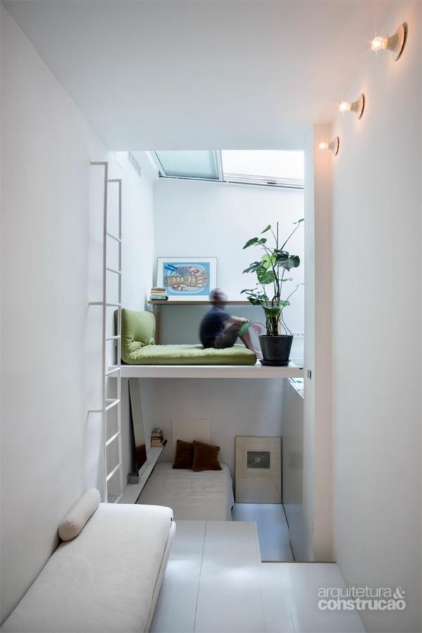 Einrichtungsideen Kleine Wohnung : Kleine Wohnung einrichten – die Raumhöhe benutzen und Platz sparen