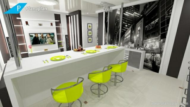 kostenloser raumplaner planoplan 3d raumgestaltung küche kücheninsel