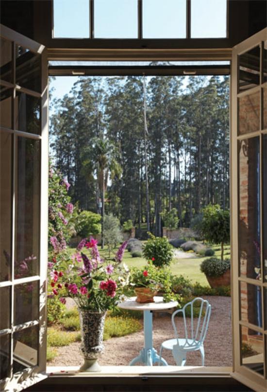 kreative gartenideen garten und landschaftsbau blick außenbereich