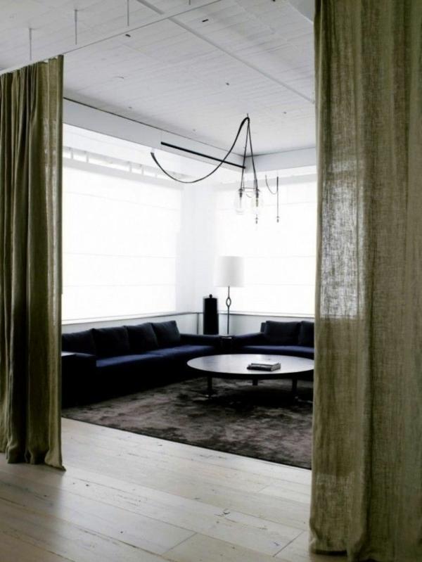 loftwohnung apartment wandgestaltung dachfenster weiß fenster