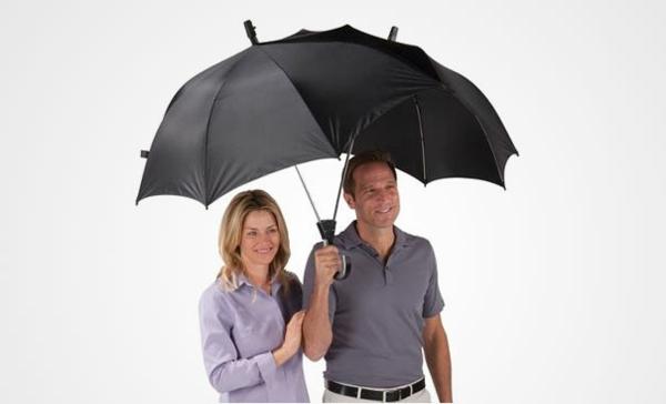 lustige regenschirme doppel