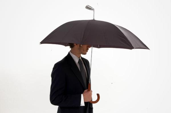 lustige regenschirme golf innovativ