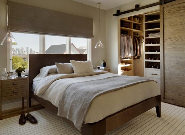 garderobe ideen für männer, die bequemlichkeit erschaffen, Schlafzimmer design