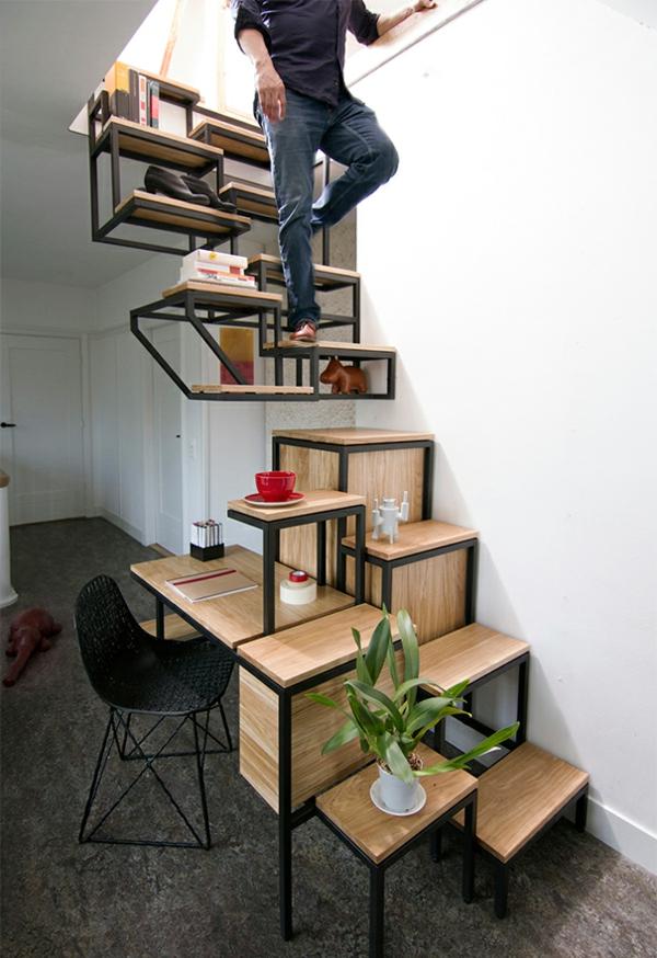 moderne architektur treppenhaus designer ideen moderne treppen praktisch schreibtisch