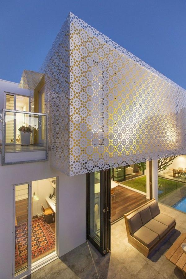 Moderne Fassadenverkleidung für einen eindrucksvollen Hauscharakter