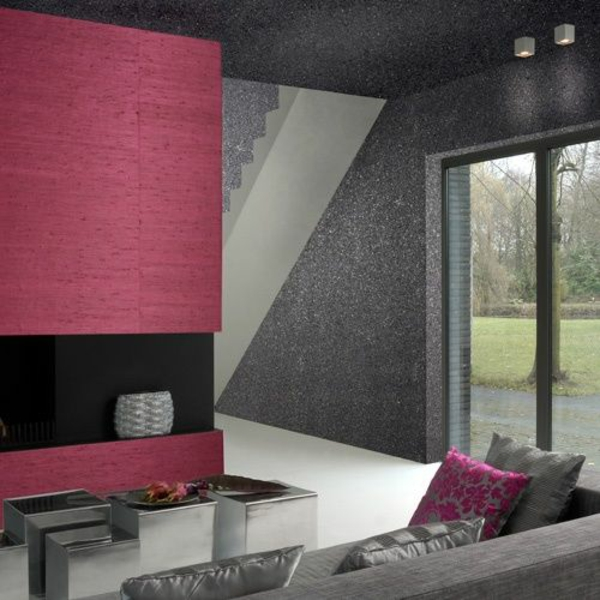 stein tapeten erschaffen ein komfortables ambiente in ihrem zuhause. Black Bedroom Furniture Sets. Home Design Ideas
