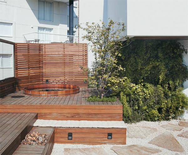 moderne wohnideen außenbereich gestalten