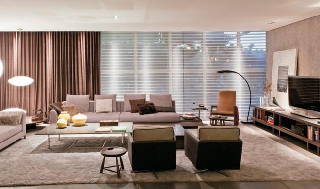 wohnzimmer ideen : braun wohnzimmer ideen ~ inspirierende bilder ... - Farbgestaltung Wohnzimmer Braun