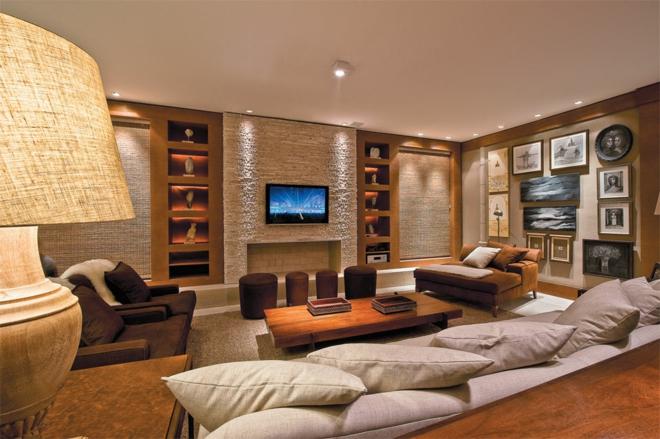 Moderne Wohnwand - 8 inspirierende Beispiele zum Nachmachen