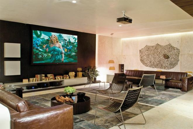 Moderne wohnwand 8 inspirierende beispiele zum nachmachen - Wohnzimmer tv wand ...