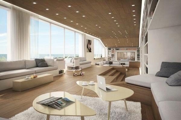 panoramafenster im innendesign daf r oder dagegen. Black Bedroom Furniture Sets. Home Design Ideas