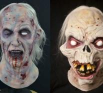Halloween Masken vervollständiegen Ihr feierliches Outfit