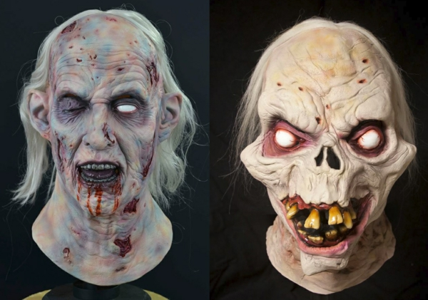 party halloween kostüme gruselige halloween horror masken