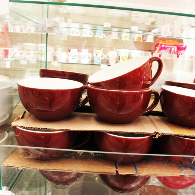 partygeschirr teetassen rot kaffeeservice geschirr set günstig kaufen