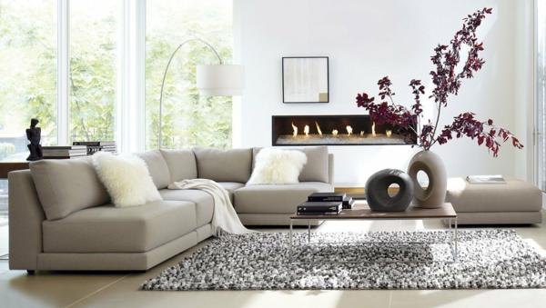 schöne dekoideen wohnzimmer verschönern