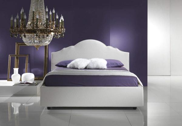 schlafzimmer wandfarbe trendfarbe 2014 königliches lila