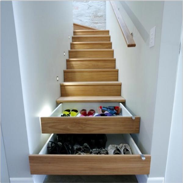 Treppe Mit Schubladen : treppen im trend durch treppenschubladen viel stauraum erschaffen ~ Watch28wear.com Haus und Dekorationen