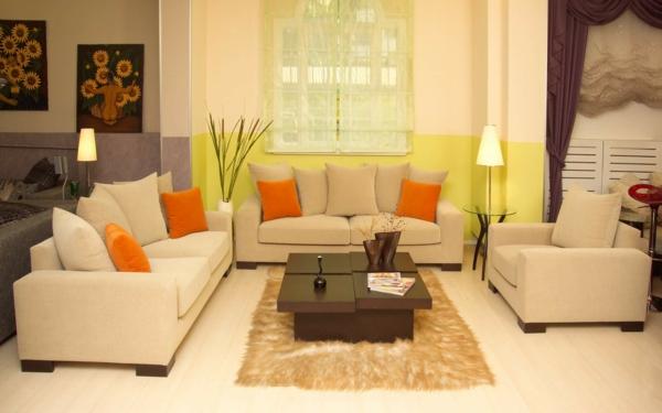 sonnenblumen bilder als wohnzimmer dekorationen