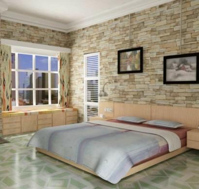 stein tapeten f%C3%BCrs schlafzimmer 410x390 - Tapete Steinoptik Schlafzimmer