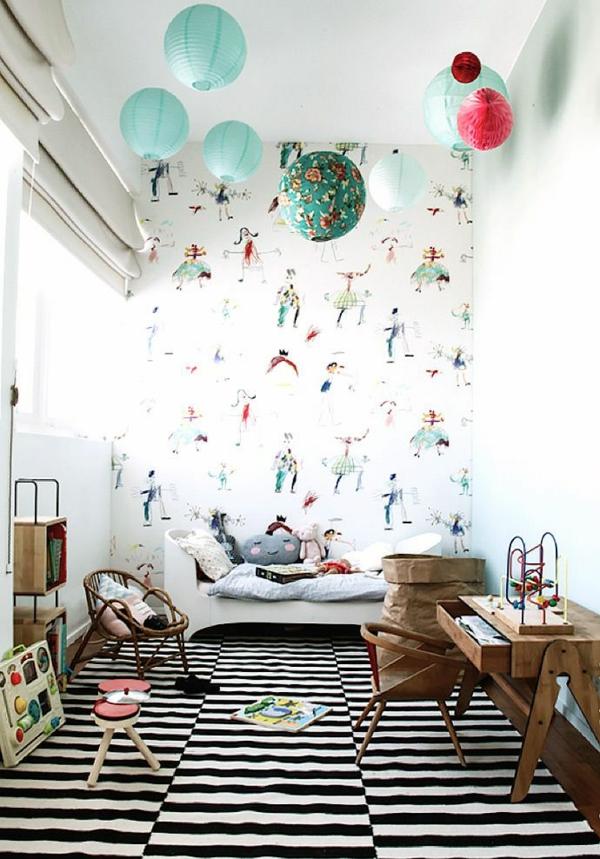 babyzimmer tapeten ideen wandgestaltung tapetenmuster