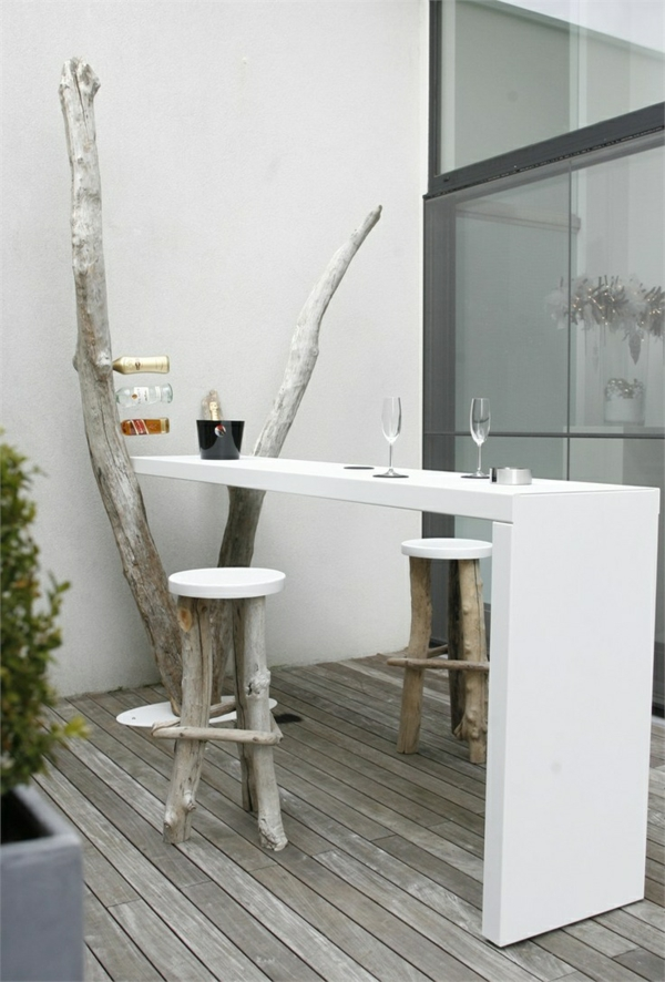 coole terrassengestaltung ideen cafe in h uslicher atmosph re. Black Bedroom Furniture Sets. Home Design Ideas