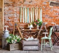 Tischdeko Ideen im rustikalen Stil – ein Dessert Buffet arrangieren
