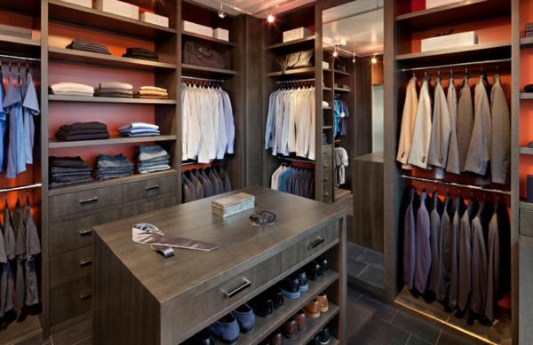 tolle garderobe ideen für männer