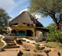 Traumh user kologische traumvilla mit atemberaubender for Afrikanische weihnachtsdeko