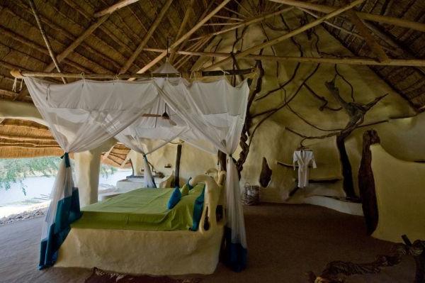 traumhäuser traumvilla afrika schlafzimmer