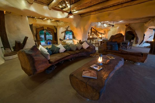 wohnzimmer afrika deko:Traumhäuser – Ökologische Traumvilla mit atemberaubender Architektur