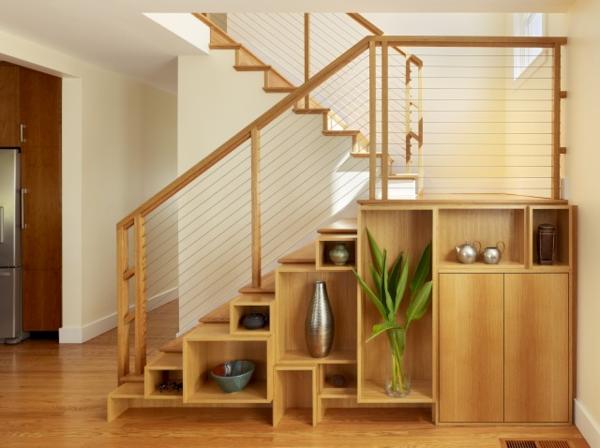 treppen ideen dekorative funktion