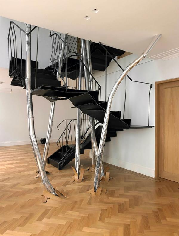 Treppenhaus gestalten beispiele  ▷ Treppenhaus gestalten - wie machen das die Designer?