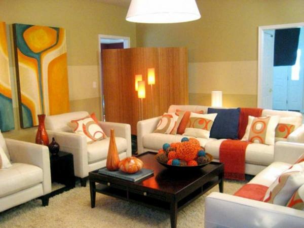 vasen als wohnzimmer dekorationen