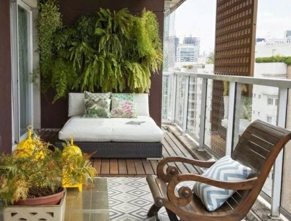 Einrichtungsideen schicke k chen die ihre wohnung aufpeppen for Schaukelstuhl balkon